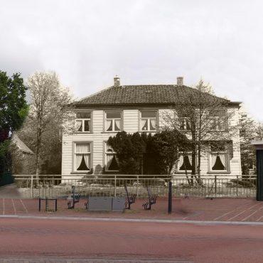 Castricum Dorpsstraat 1950