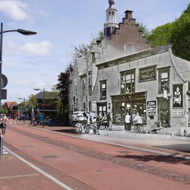 Dorpsstraat Wijndepot 1916
