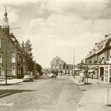Dorpsstraat Castricum 1950-1960