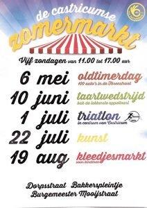 Zomermarkt in Castricum Thema Triatlon @ Dorpsstraat, Bakkerspleintje | Castricum | Noord-Holland | Nederland
