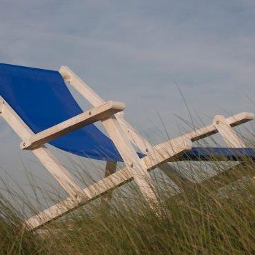 Grote strandstoel Castricum