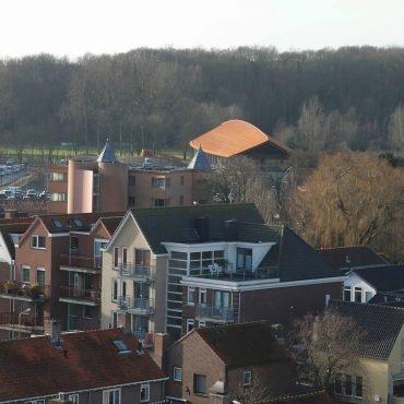Vanaf toren NH kerk Castricum