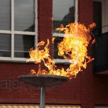 Veteranendag vuur Castricum