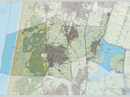 Kaart Gemeente Castricum