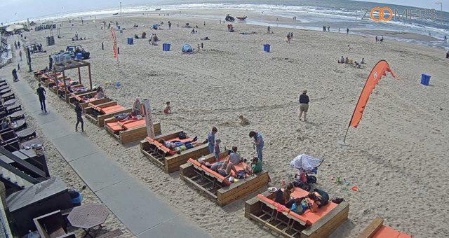Webcam op het strand van Castricum aan zee