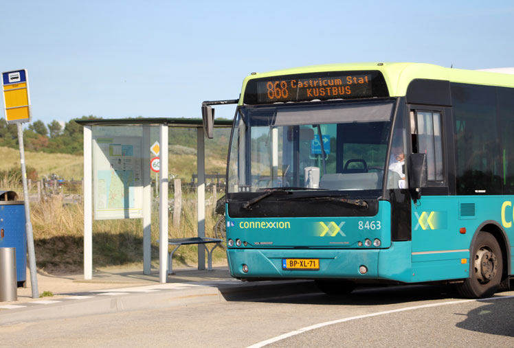 Castricum Strandbus Buslijn Connexxion