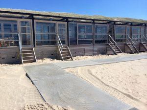 Strandhuisjes Castricum aan zee 2